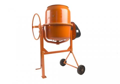 products/CM20160 Бетономешалка Sturm!, 800 Вт, 160 л, 28 об/мин, чуг. венец, пластик кожух