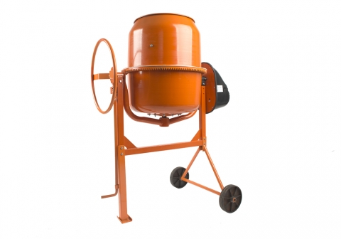 products/CM20200 Бетономешалка Sturm!, 900 Вт, 200 л, 28 об/мин, чуг. венец, пластик кожух