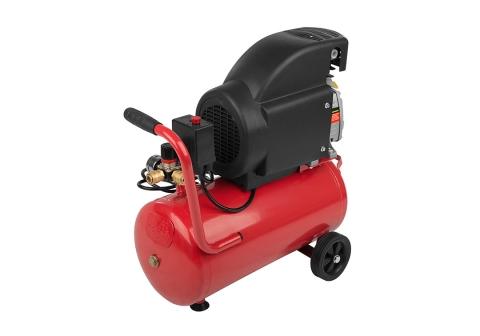 products/AC9316 Воздушный компрессор Sturm, 1600 Вт, 24л, 250л/мин, 8бар, 2850 об/мин, манометр, колеса