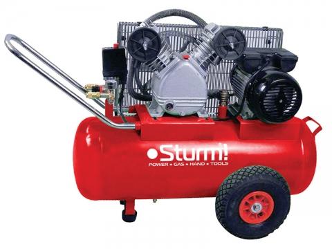 products/AC9323 Воздушный компрессор Sturm, 2400 Вт, 50л, 410л/мин, 8бар, 2850 об/мин, предохр. клапан
