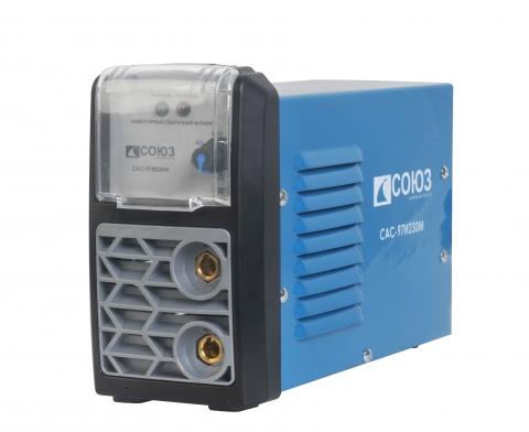 products/САС-97И230М Сварочный аппарат СОЮЗ мини, 230А, IGBT инвертор, ArcForce/AntiStick, 180-250В