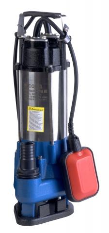 products/НГС-9705СВ Насос погружн. дренаж. (фекальный) СОЮЗ, 500 Вт,100л/мин,напор 7,5м,глуб погр5м,НОЖ