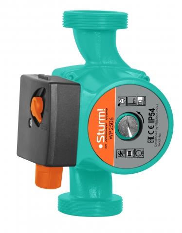 products/WP2506 Насос циркуляционный STURM, 3 скорости, макс 96Вт, 45л/мин