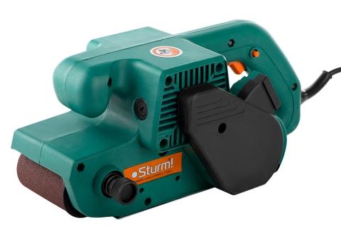 products/BS8580 Ленточная шлифмашина Sturm, 800 Вт, 76х533мм, пылесборник, быстрозажим рычаг