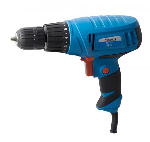 products/ДУС-2165 Дрель-шуруповерт электрическая СОЮЗ, 650Вт, 0-750 об/мин, РЕГ ОБОР, б/заж патрон 10мм