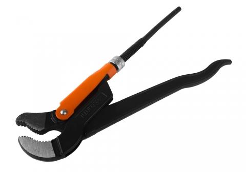 products/1045-04-P1 Ключ трубный рычажный, 1 дюйм, 45 градусов, Sturm!