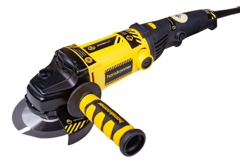 products/HAG12125 Машина углошлифовальная Hanskonner, 125 мм,1200Вт, 8500об/м, быст.кожух, удлинен. рук.