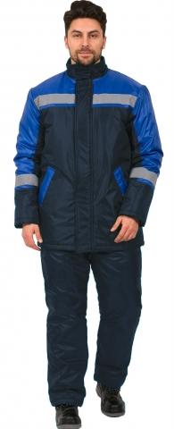 products/Куртка зимняя Стандарт (тк.Оксфорд), т.синий/васильковый