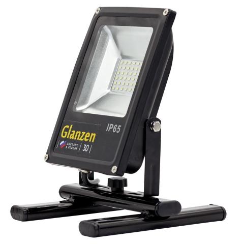 products/Светодиодный прожектор переносной GLANZEN FAD-0016-50 (50 Вт, 6000 К, SIP)