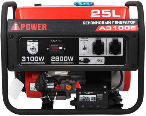 products/Бензиновый генератор A-iPower A3100E