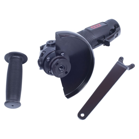 products/Пневматическая угловая шлифовальная машина (УШМ) 125 мм, 11000 об/мин, с рычажным выключателем MIGHTY SEVEN QB-7115