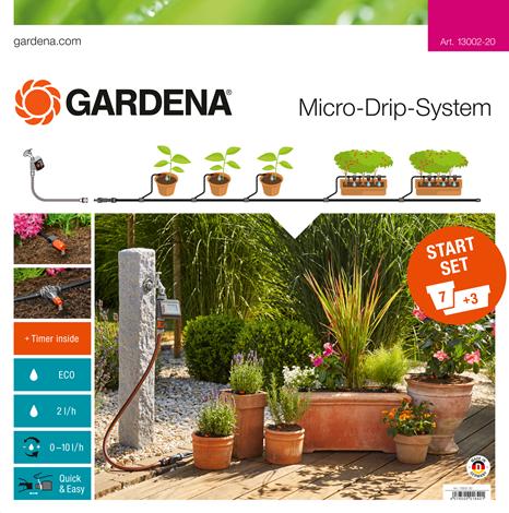 products/Комплект микрокапельного полива базовый с таймером Gardena 13002-20.000.00