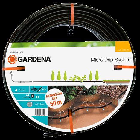 products/Шланг сочащийся для подземной прокладки 50 м (комплект для удлинения арт. 1389) Gardena (арт. 01395-20.000.00)