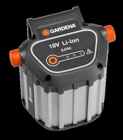 products/Аккумулятор литий-ионный BLi-18/2,6Ач Gardena (арт. 09839-20.000.00)