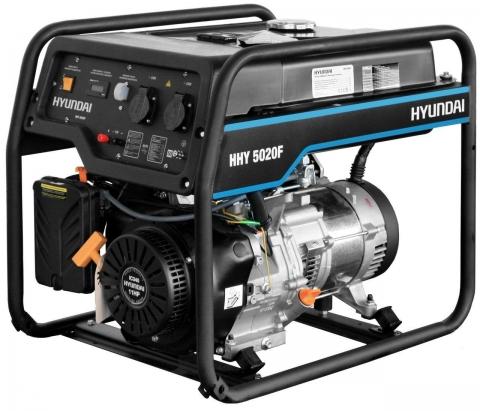 products/Генератор бензиновый Hyundai HHY 5020F