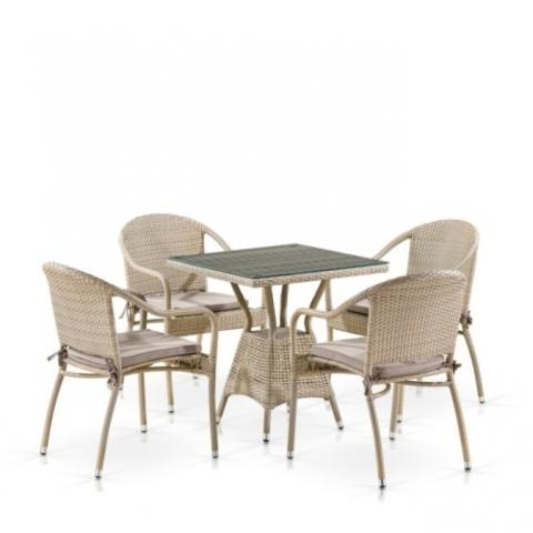 products/Комплект мебели T706/Y480C-W85 4 PCS Latte