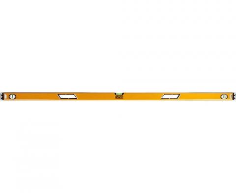 products/Уровень JCB JBL006 коробчатый, 2 фрезерованные базовые поверхности, 3 ампулы, крашенный, с ручками, 0,5мм/м, 180см