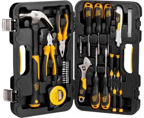 products/Набор JCB (JST001): Инструменты для ремонтных работ, 27 предметов