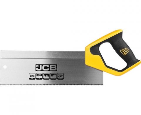 products/Пила JCB (JSW001) для стусла, полотно из стали SK5, 3-х гранные зубья, двухкомпонентная рукоятка, усиленный обушок, 300мм