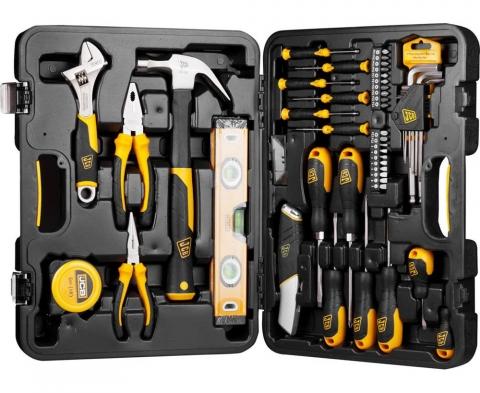 products/Набор JCB (JST002): Инструменты для ремонтных работ, 50 предметов