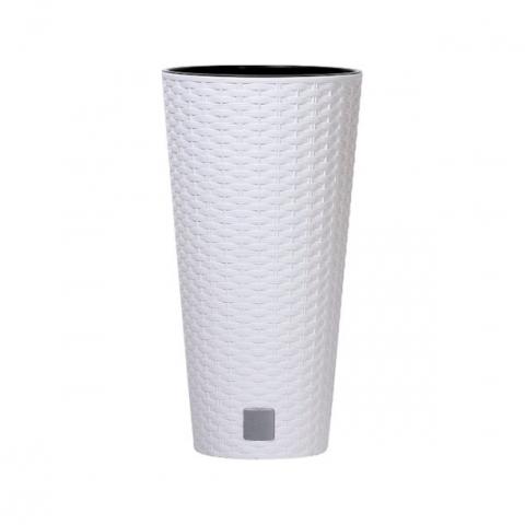 products/Кашпо для цветов Prosperplast Rato Tubus 15,5 л белый, арт. DRTUS250-S449