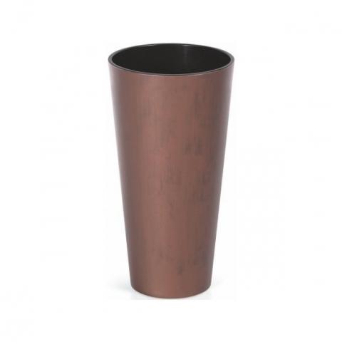 products/Кашпо для цветов Prosperplast Tubus Slim Corten кортен сталь 2 предмета 35 и 64 л, арт. DTUS400C-7601U