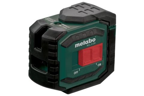 products/Линейный лазерный нивелир  (крест+2 вертик. точки) Metabo KLL 2-20 606166000