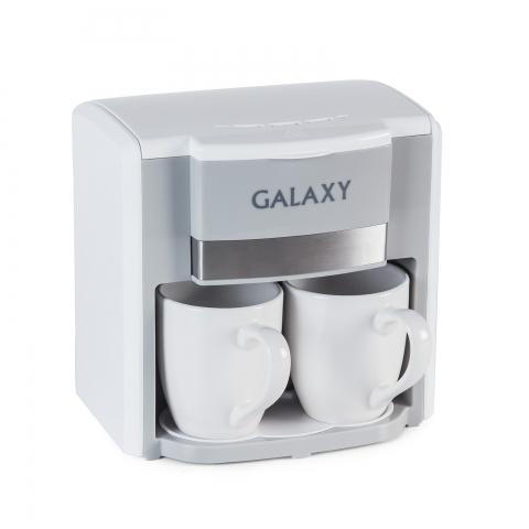 products/Кофеварка электрическая GALAXY GL0708, арт. гл0708бел, гл0708кр, гл0708чер