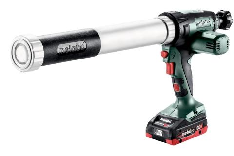 products/Пистолет для герметика Metabo KPA 18 LTX 600 (601207800), 1х4.0 Ач