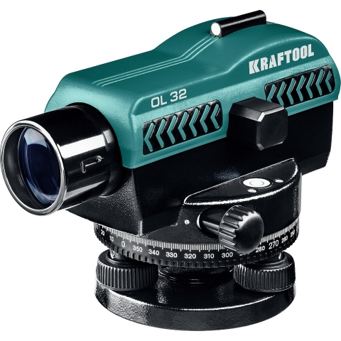 products/Оптический нивелир OL-32 увеличение 32Х рабочий диапазон 122 м, KRAFTOOL, 34520