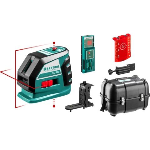 products/Лазерный линейный нивелир KRAFTOOL CL-70-4 34660-4