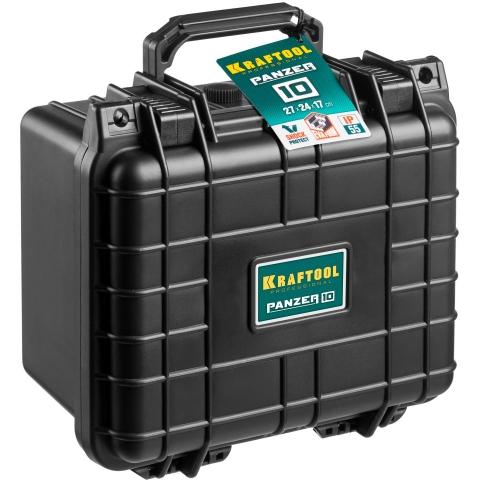 products/Ящик ударопрочный PANZER пластиковый, степень защиты IP55, 10, KRAFTOOL 38251-10
