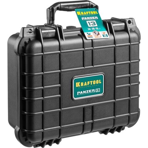 products/Ящик ударопрочный PANZER пластиковый, степень защиты IP55, 13, KRAFTOOL 38251-13