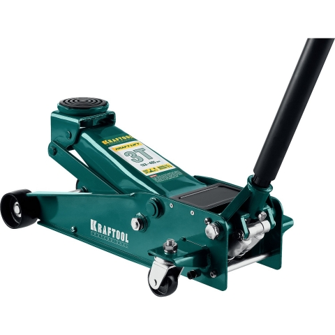 products/Домкрат гидравлический подкатной Kraft-Lift, 3т, 133-465 мм, KRAFTOOL 43450-3