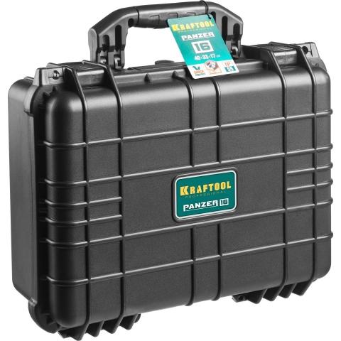 products/Ящик ударопрочный PANZER пластиковый, степень защиты IP55, 16, KRAFTOOL 38251-16