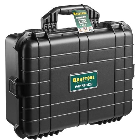 products/Ящик ударопрочный PANZER пластиковый, степень защиты IP55, 20, KRAFTOOL 38251-20