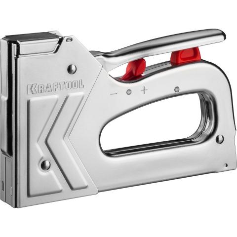 products/Степлер для скоб GRAND 53 3-в-1: тип 53 (6-16 мм) / 300 (16 мм) / 500 (16 мм), KRAFTOOL 3180