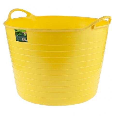 products/67507 Ведро гибкое 40 л, желтое сверхпрочное Сибртех