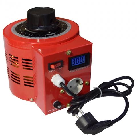 products/Автотрансформатор ЛАТР SUNTEK RED 1000ВА 0-300 Вольт (4А), 2 года гарантии
