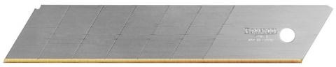 """products/Лезвие KRAFTOOL """"PRO"""" сегментированное, 7 сегментов, покрытие нитрид титана, 25мм, 5шт 09607-TIN-25-S5"""