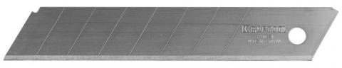 """products/Лезвие """"SOLINGEN"""" сменное, KRAFTOOL 09605-18-S5, сегментиров, легирован инструмент сталь, многоуров закалка, 8 сегментов, 18 мм, 5шт 09605-18-S5_z01"""