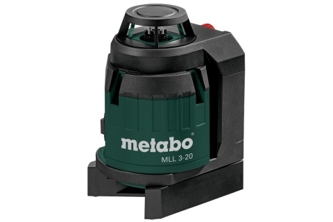 products/Мультилинейный лазерный нивелир 360° Metabo MLL 3-20 606167000