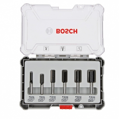 products/Набор пазовых фрез Bosch 6мм. 6шт. (арт. 2607017465)