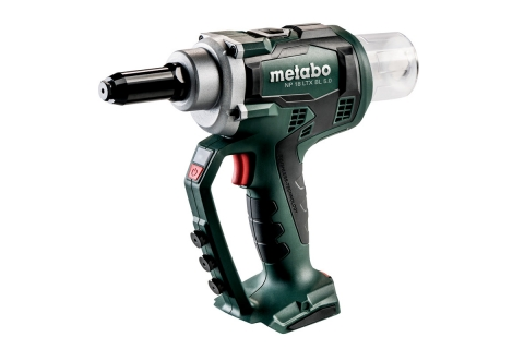 products/Аккумуляторный заклепочник Metabo NP 18 LTX BL 5.0 (619002890), без АКБ и ЗУ