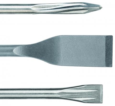 products/Набор долот SDS-Plus 3 предмета (пика, зубило, лопаточное долото 250 мм) Bosch 2.607.019.159