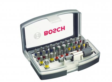 products/Набор бит с держателем, 32 шт. Bosch 2607017319