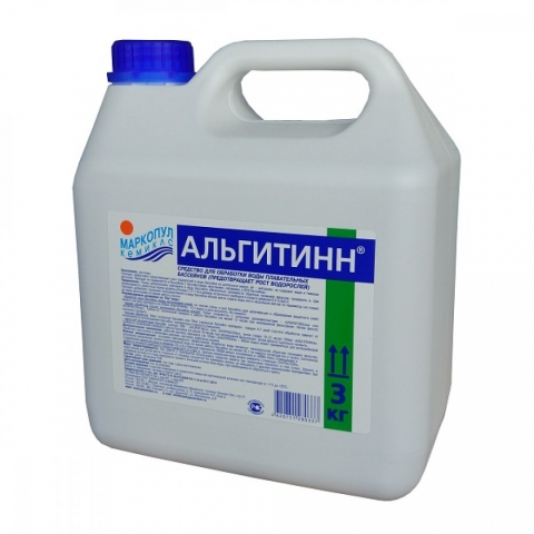 products/Средство для бассейна Маркопул Альгитинн, от водорослей 3л, арт. ХИМ14