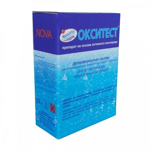 products/Средство для бассейна Маркопул Окситест, очищение воды 1,5кг, арт. ХИМ07