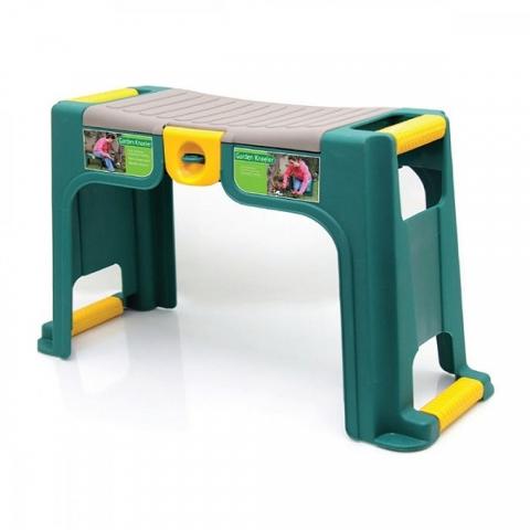 products/Скамейка-перевертыш садовая Helex с органайзером, зеленый/желтый, арт. H825
