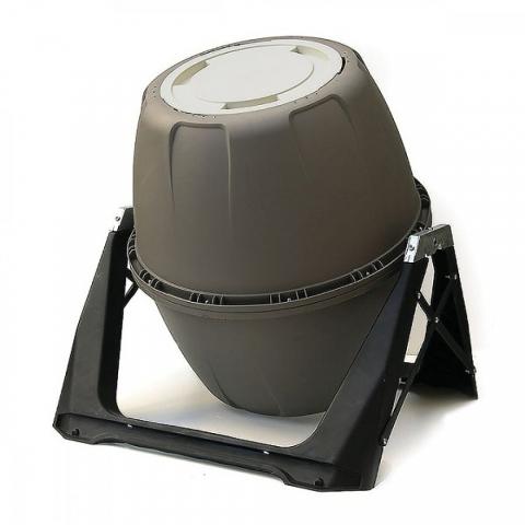 products/Компостер вращающийся Helex 180 л серый, арт. H818
